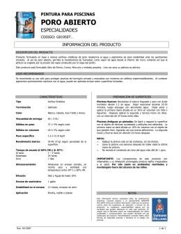 G01950 Piscina Poro Abierto