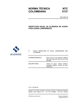 NTC 5137 - ICONTEC Internacional