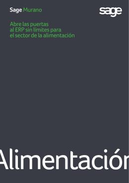 Sage Murano Alimentación - ATLAS Proyectos Informáticos