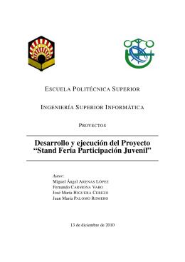 Stand Feria Participación Juvenil