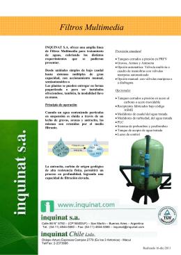 Filtros Multimedia