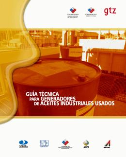 Guía técnica para generadores de aceites usados