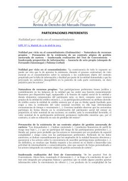 Seguir leyendo - Revista de Derecho del Mercado Financiero RDMF