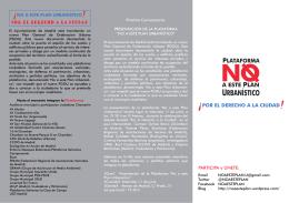URBANÍSTICO - Plataforma por la Educación Pública de Chamberí