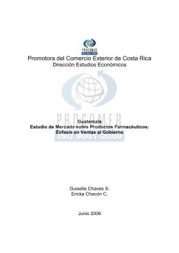 estudio_mercado_ Guatemala_2006_farmaceutico