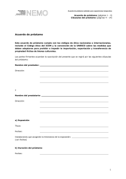 Loan Agreement_es