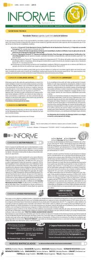 Informe Nº 5 - Consejo Profesional de Ciencias Económicas de La