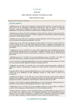 Normograma de la Imprenta Nacional de Colombia