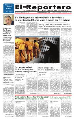 Un día después del asilo de Rusia a Snowden