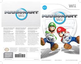 Manual Mario Kart Wii