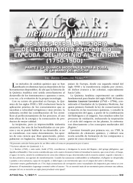 APUNTES PARA LA HISTORIA DEL LABORATORIO