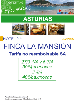 FINCA LA MANSION
