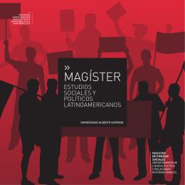 MAGÍSTER - Postgrado Universidad Alberto Hurtado