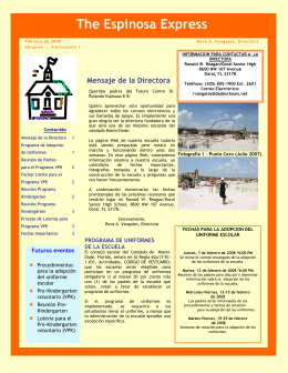 Febrero - Dr. Rolando Espinosa K