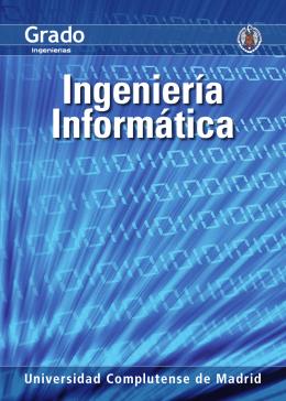 Díptico de la titulación - Facultad de Informática