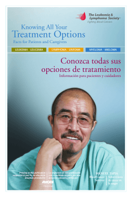Descarga el PDF - The Leukemia & Lymphoma Society en Español