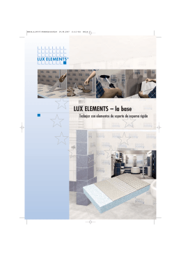 LUX ELEMENTS – la base