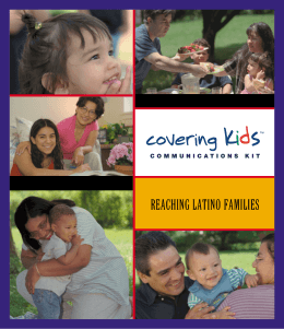 Communications Kit Reaching Latino Families