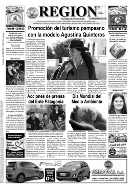 Del 8 al 14 de junio de 2012 - REGION Empresa Periodística