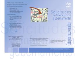 Solicitudes - Secretaría de Salud :: México