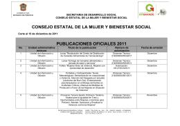 Publicaciones 2011