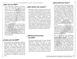 Preguntas más frecuentes sobre los C.O.P.