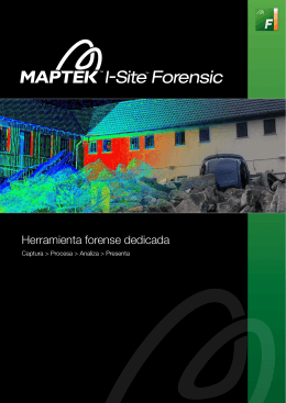 Folleto I-Site Forensics