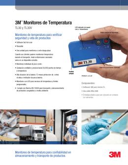 3M™ Monitores de Temperatura