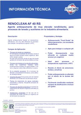 renoclean af 40 rs - R. BEJAR RODRIGUEZ