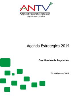 Agenda Estratégica 2014