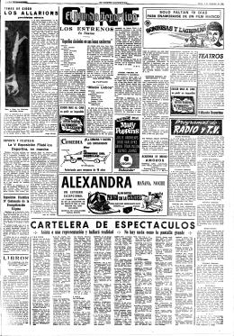 ARTELERA -DE ESPECTACULOS