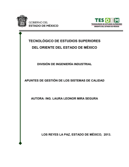 TECNOLÓGICO DE ESTUDIOS SUPERIORES DEL