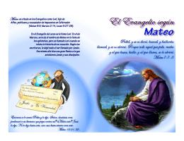 Evangelio de Mateo Ilustrado para imprimir en PDF