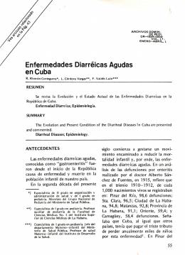en Cuba Enfermedades Diarréicas Agudas