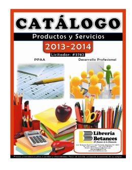 notas - Librería Betances