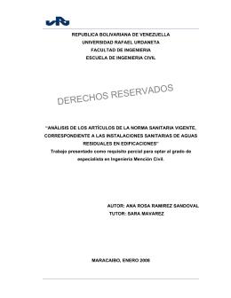 REPUBLICA BOLIVARIANA DE VENEZUELLA