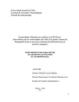 Lea más (PDF archivo) - Centro de Documentación Ñuke Mapu