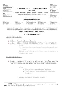 Descargar dossier en PDF - Cremades & Calvo Sotelo