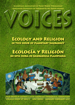 EcOLOGíA Y RELIGIóN - International Theological Commission
