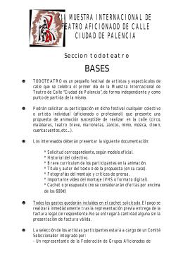 descargar en formato pdf - Muestra Internacional de Teatro