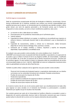 Descarga documento de Perfil de ingreso del estudiante en formato