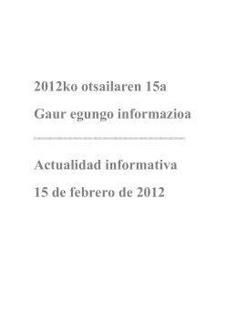 2012ko otsailaren 01a