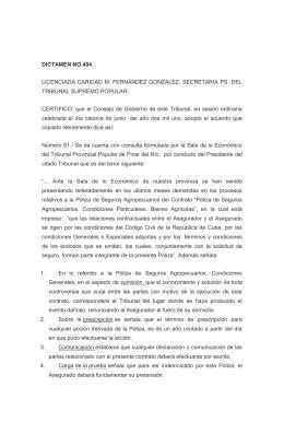 LICENCIADA CARIDAD M