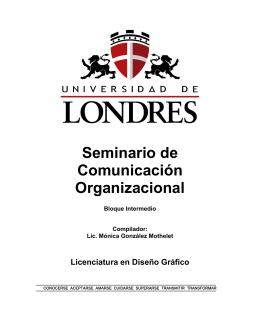 Seminario de Comunicación Organizacional