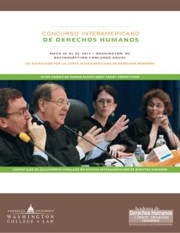 CONCURSO INTERAMERICANO - Universidad Nacional de Tucumán