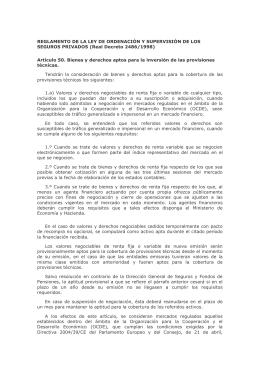 REGLAMENTO DE LA LEY DE ORDENACIÓN Y