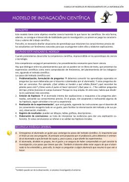 Modelos de enseñanza - Gobierno de Canarias