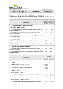 Epígrafe 10 - Caja Rural de Soria