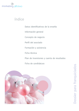 Descargar dossier de Aromarketing