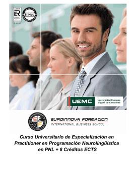 Titulación Universitaria + 8 ECTS
